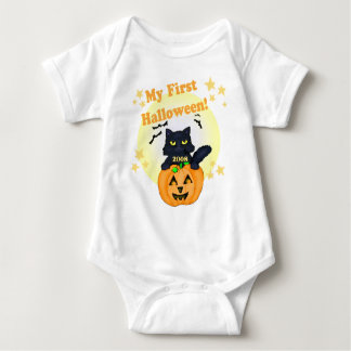 Halloween Pumpkin and Cat T-Shirt
