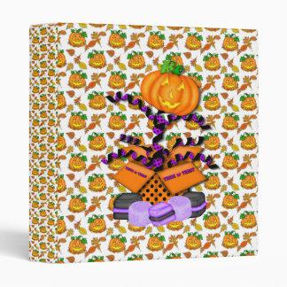 Halloween Pumpkin  Avery Binder
