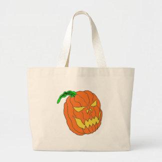 Halloween Pumpkin Canvas Bags