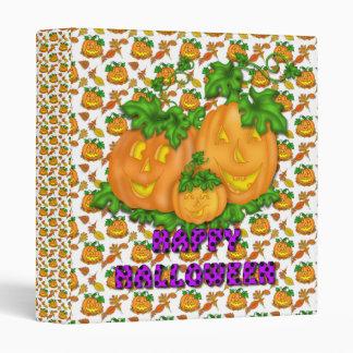 Halloween Pumpkin Binder