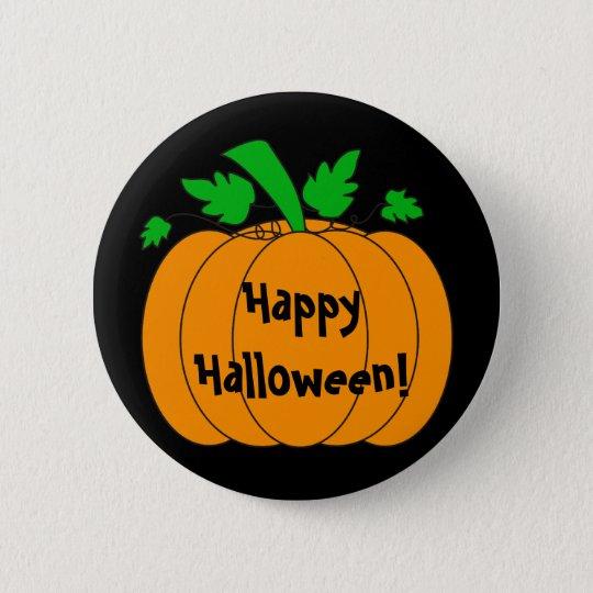 Halloween pumpkin - Button