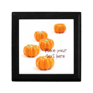 Halloween pumpkin candy gift box