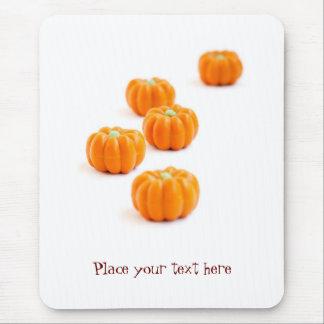 Halloween pumpkin candy mouse mat