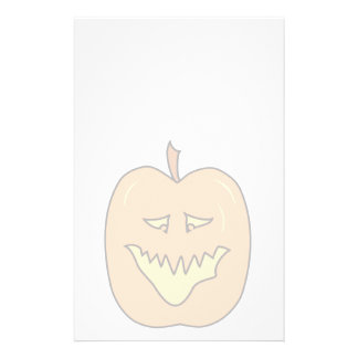Halloween Pumpkin Cartoon. Pale Colors Personalized Flyer