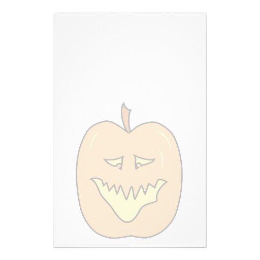 Halloween Pumpkin Cartoon. Pale Colors Personalized Flyer