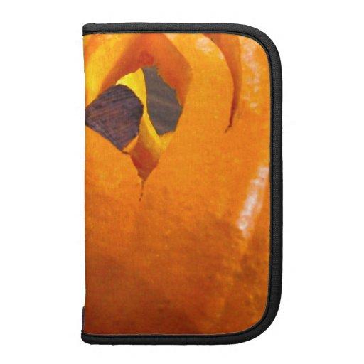 Halloween Pumpkin Carving Photograph Folio Planner