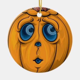Halloween Pumpkin Christmas Ornament