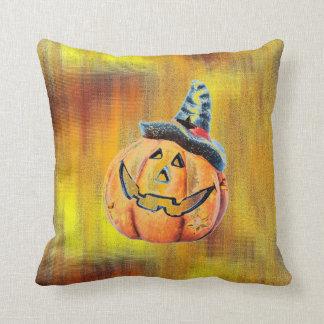 Halloween Pumpkin Pillow