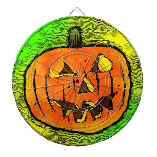 Halloween Pumpkin Dartboard