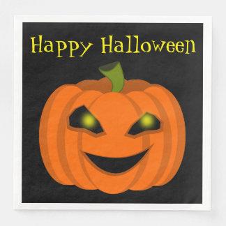 Halloween Pumpkin Disposable Serviettes
