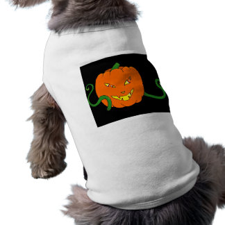 Halloween pumpkin Dog Costume Doggie Tshirt