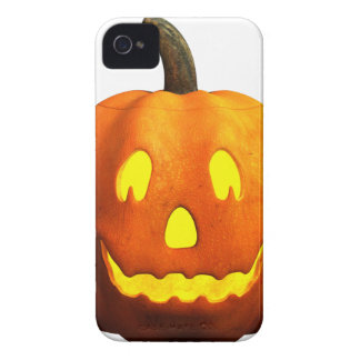 Halloween Pumpkin Face - Happy iPhone 4 Case
