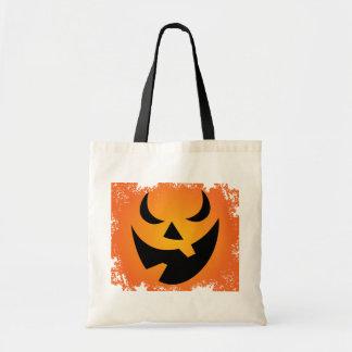 Halloween Pumpkin Face Trick or Treat Bag