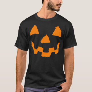 Halloween Pumpkin Face Tshirt