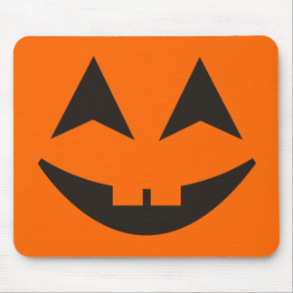 Halloween Pumpkin Faces Mousepad 1