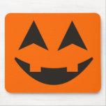Halloween Pumpkin Faces Mousepad 3