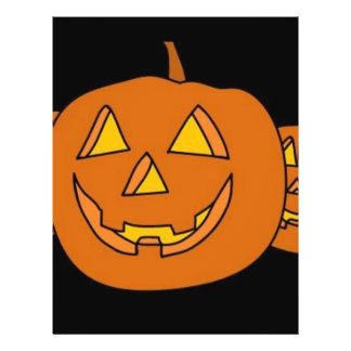 Halloween Pumpkin Full Color Flyer