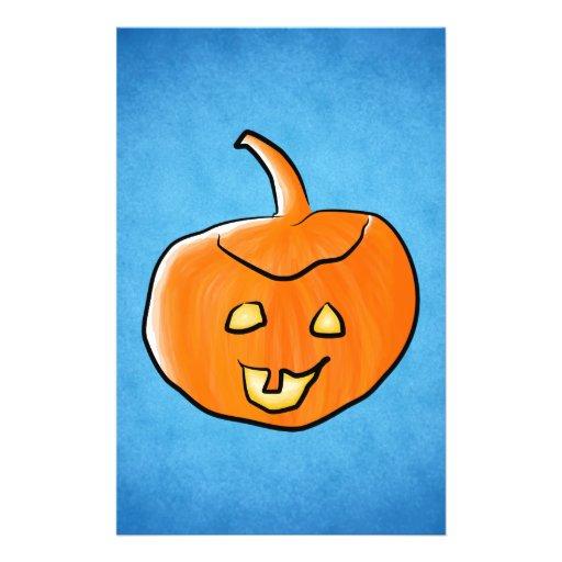 Halloween Pumpkin Custom Flyer