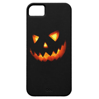Halloween pumpkin in dark iPhone 5 cover