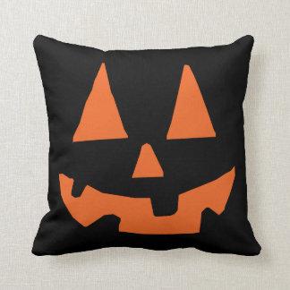 Halloween Pumpkin Jack-o-Lantern Cushion