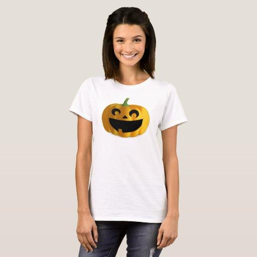 Halloween Pumpkin Jack-O-Lantern Women's T-Shirt