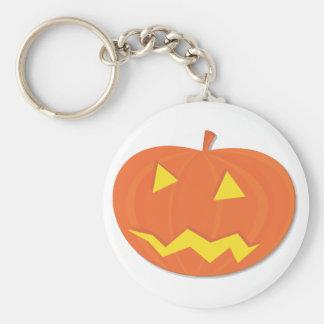 Halloween pumpkin keychains
