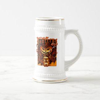 Halloween Pumpkin King (Lord O Lanterns) Beer Steins