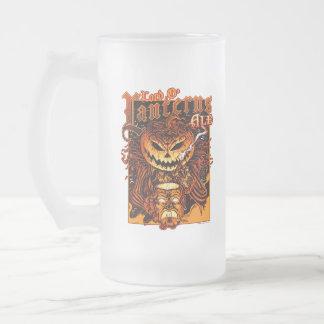 Halloween Pumpkin King (Lord O Lanterns) Frosted Glass Mug
