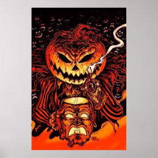Halloween Pumpkin King Poster