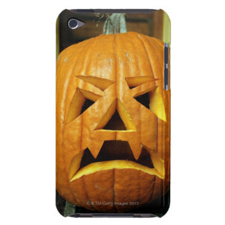 Halloween pumpkin lantern, close-up barely there iPod cases
