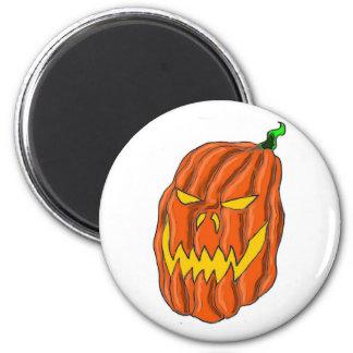 Halloween Pumpkin Magnet