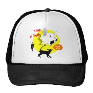 Halloween Pumpkin Mouse and Cats Hat