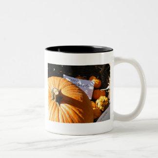 Halloween Pumpkin Mugs