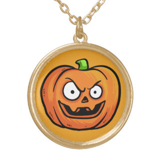 Halloween Pumpkin necklace 1