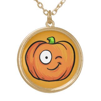 Halloween Pumpkin necklace 2