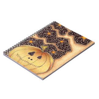 Halloween Pumpkin Notebooks