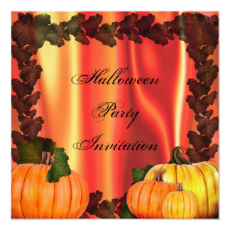 Halloween Pumpkin Party Invitation