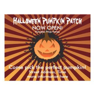 Halloween Pumpkin Patch 21.5 Cm X 28 Cm Flyer