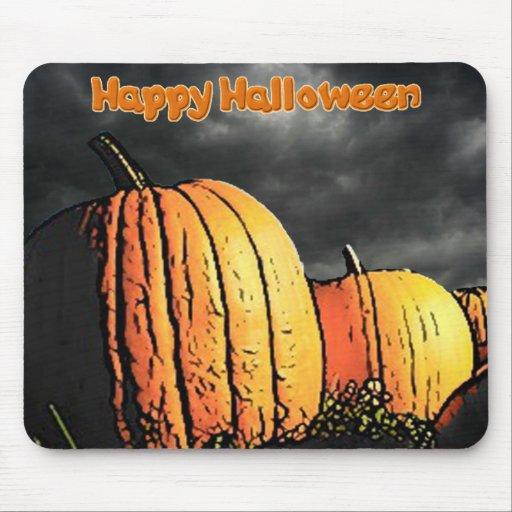 Halloween Pumpkin Patch Mousepad