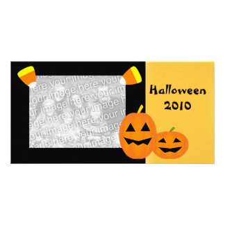 Halloween Pumpkin Patch Photo Card