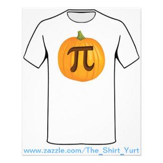 Halloween Pumpkin Pie Pi 11.5 Cm X 14 Cm Flyer