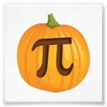 Halloween Pumpkin Pie Pi Art Photo
