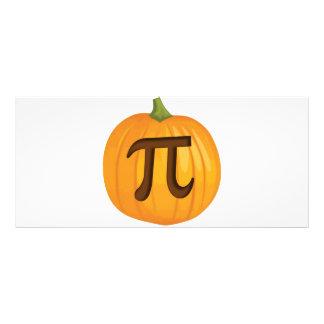 Halloween Pumpkin Pie Pi Rack Card Template