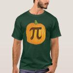 Halloween Pumpkin Pie Pi T-Shirt