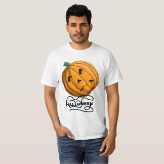 HALLOWEEN PUMPKIN SCARECROW by Slipperywindow T-Shirt