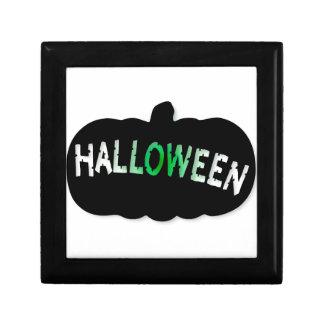 Halloween Pumpkin Silhouette Gift Box