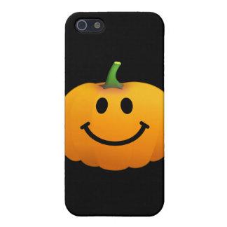 Halloween Pumpkin Smiley face iPhone 5 Case