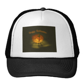 Halloween Pumpkin Spooky Atmosphere Cap