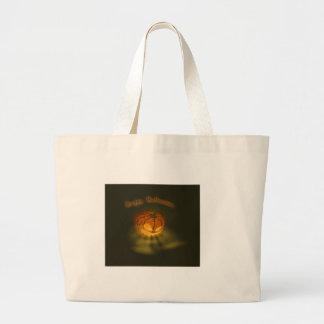 Halloween Pumpkin Spooky Atmosphere Jumbo Tote Bag