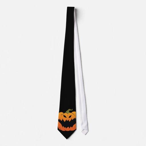 Halloween Pumpkin Tie